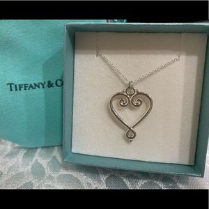 NWOT Tiffany & Co Venezia Goldoni Heart❤️ Necklace